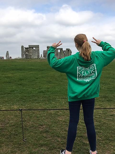 Flathead Celtic Festival Stonehenge
