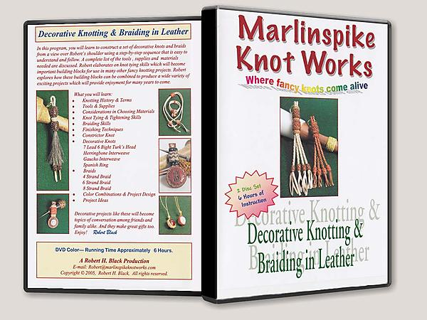 Decorative Knotting & Braiding in Leather