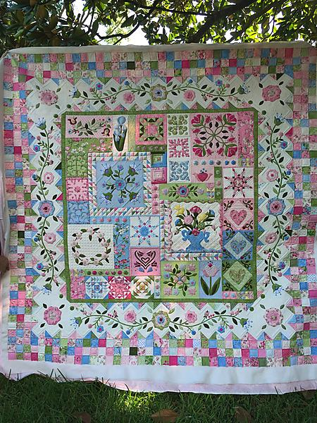 Quilting for Mobile Quilter8217s Guild 8211  2017 Opportunity Quilt