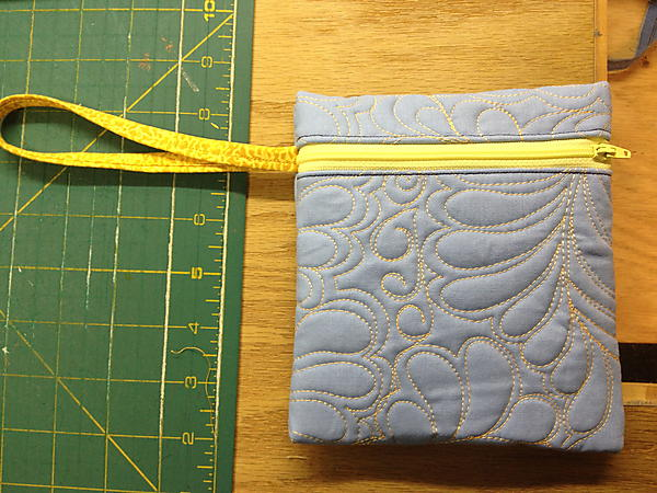 Quilted Large Tote With Zippered Bag Tutorial Part 2