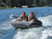Tubing On Lake Blaine
