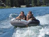 Tubing On Lake Blaine