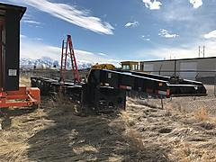 SOLD 2018 PROHAUL 43 SAND CHASSIS TRAILER