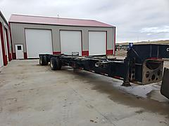 2018 PROHAUL 43 SAND CHASSIS TRAILER WY