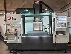 SOLD 8211 2018 HAAS VF4SS 4 AXIS CNC VERTICAL MACHINING CENTER LEBANON NJ