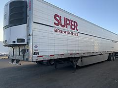SOLD 2016 UTILITY 3000R REEFER TRAILER CA
