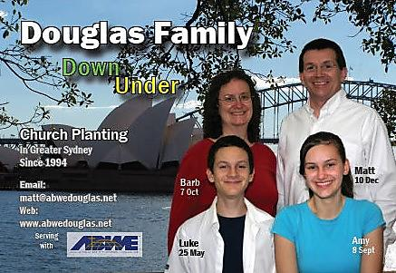 Douglas Matt Barb and Family