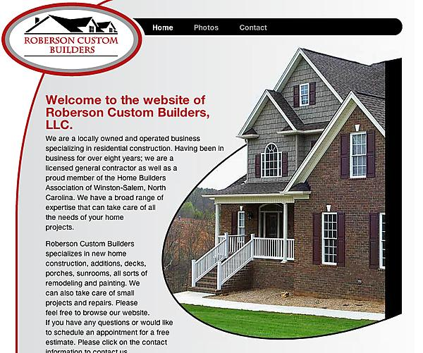 robersoncustombuilders.com