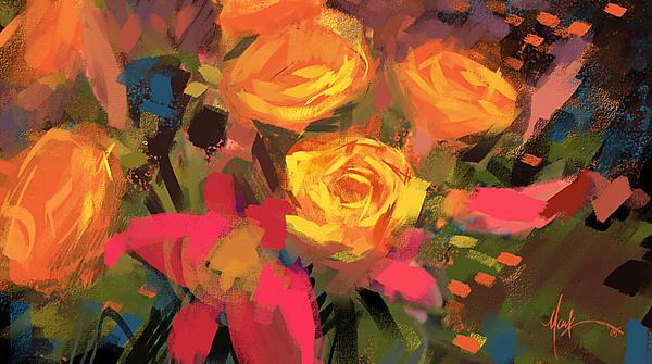 Flower color study