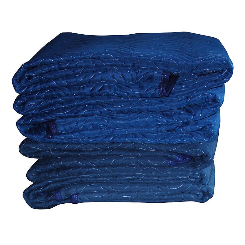 Premium Moving Blankets 4-Pack | 80 lbs