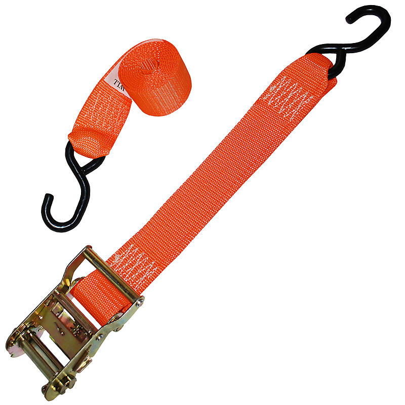 "2"" Ratchet Strap with S-Hooks"