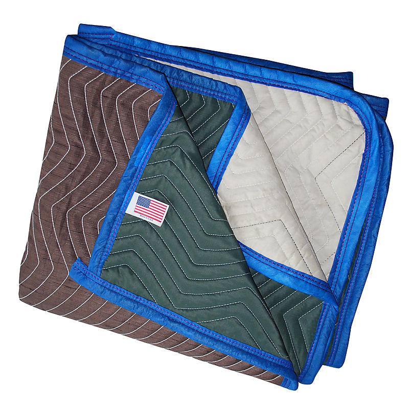 USA Multi Color Single Moving Blanket