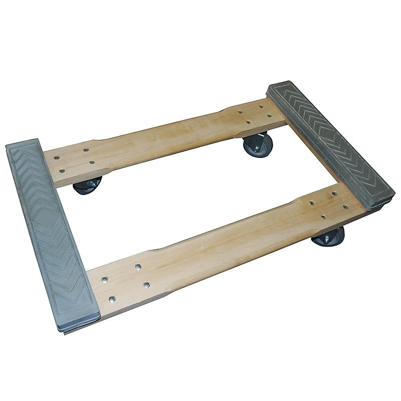 4 wheel rubber capped dolly