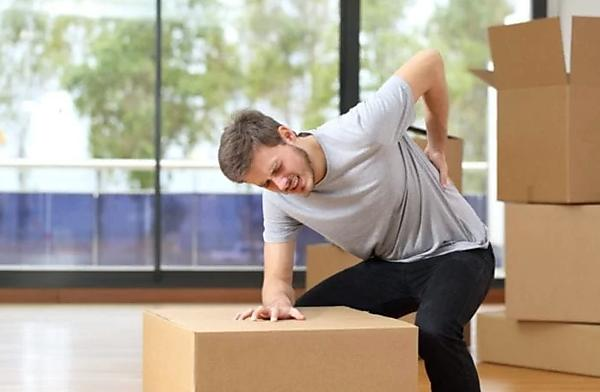 Back Injuries from moving heavy furniture into a new house