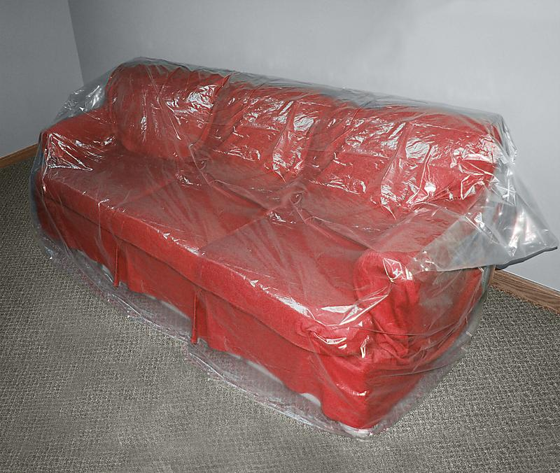 Plastic covered furniture Furniture plastic cover