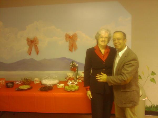 Pr Wesley e esposa irm Tena