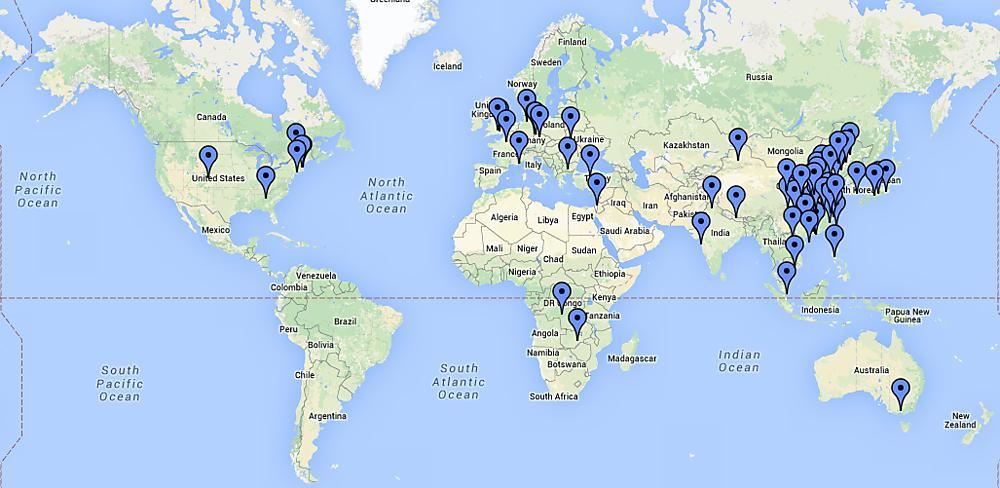 Vistors8217 Map