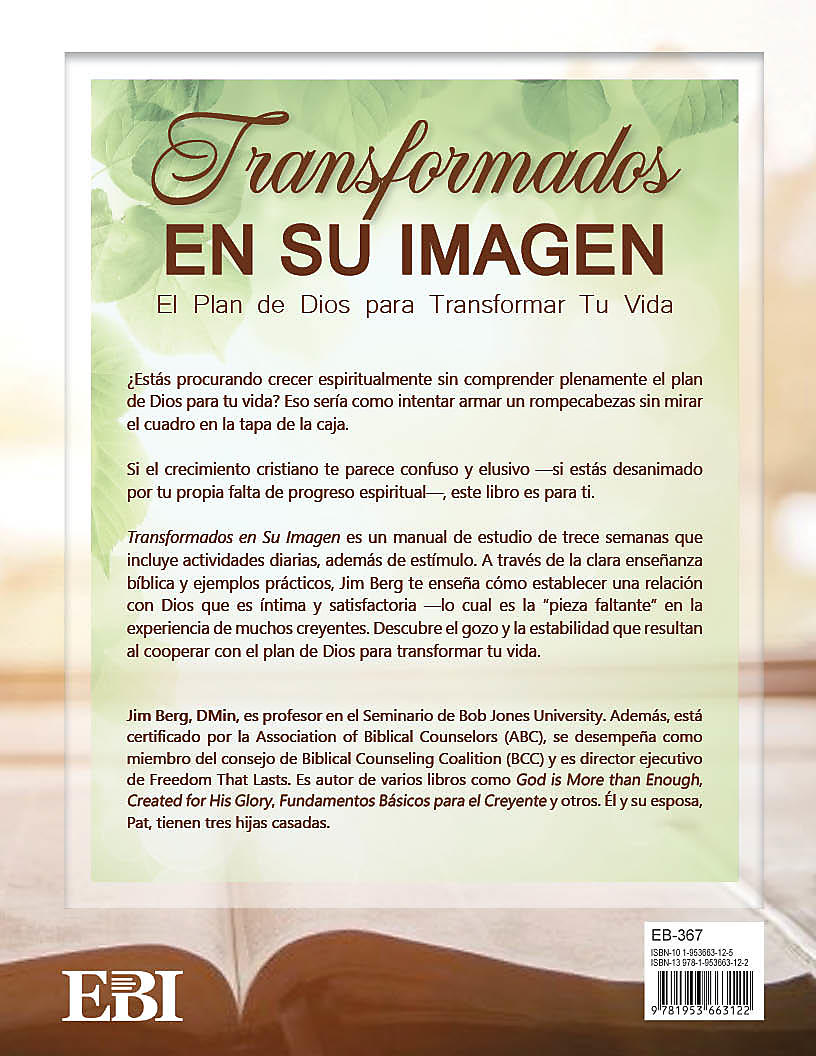 Changed into His Image (Spanish)