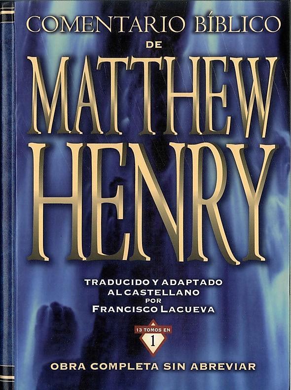 Comentario Bíblico de Matthew Henry