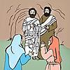Jesus Heals Lazarus