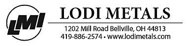 Lodi Metals Document Header