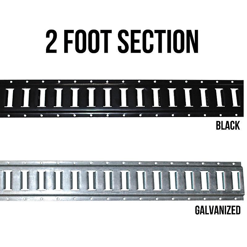 Black E-Track