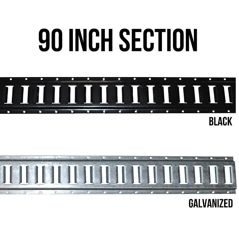 90in Horizontal E-Track