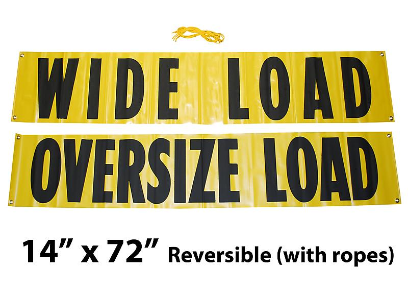 14x72 Wide Load Sign