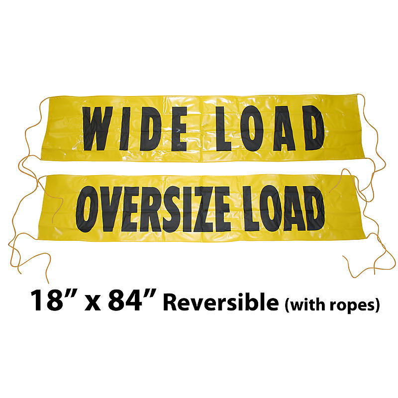 18x84 Oversize Load Sign