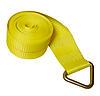 "4"" x 30' Winch Strap w/Delta Ring"