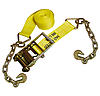 "4""x27' Ratchet Strap w/Chain & Hook"