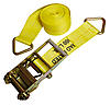 "4""x30' Ratchet Strap w/Delta Rings"