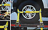 Side Mount Wheel Net w/Cambuckle & 2 Ratchets