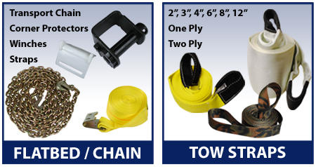 flatbed supplies and towstraps