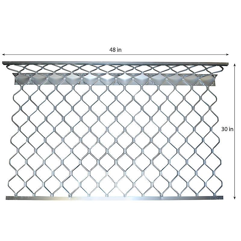 Aluminum Masonry Sideboard