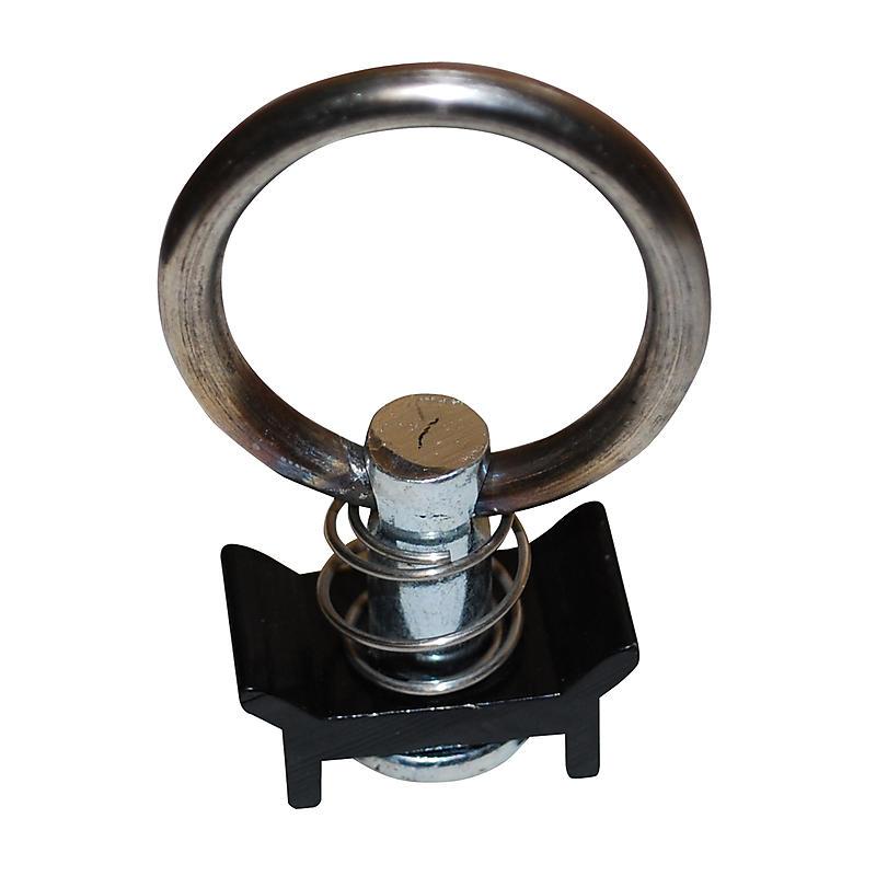 L-Track Fitting Single Stud Round Ring