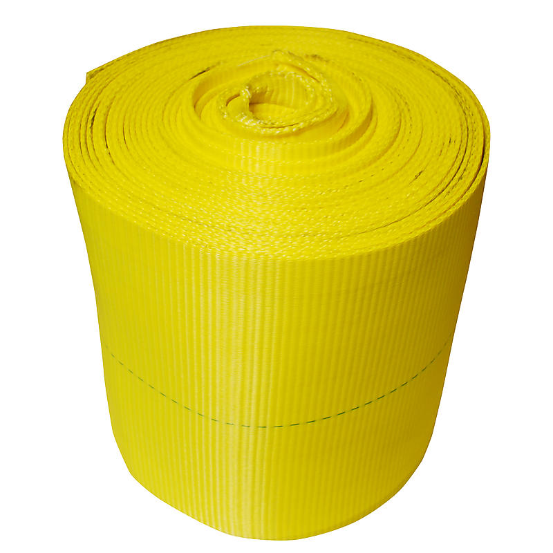 "12""  117,600 lbs Polyester Webbing"