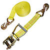 "2"" Ratchet Strap with Delta Rings and Clevis Grab Hooks"