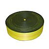 "4"" 24,000 Yellow Polyester Webbing with Edge Protection"