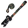"1"" Heavy Duty Camo Ratchet Strap with 5"" Loops"