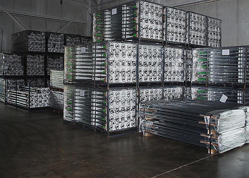 Cargo Bars in Warehouse