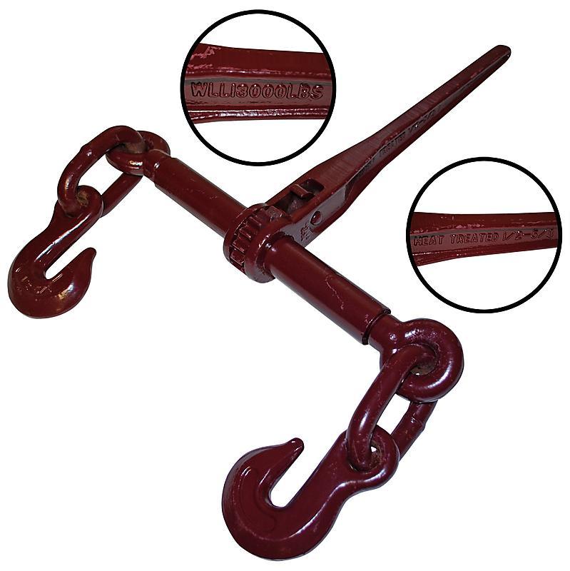 "Ratchet Style Load Binder 1/2"" X 5/8"" : Lodi Metals Inc"