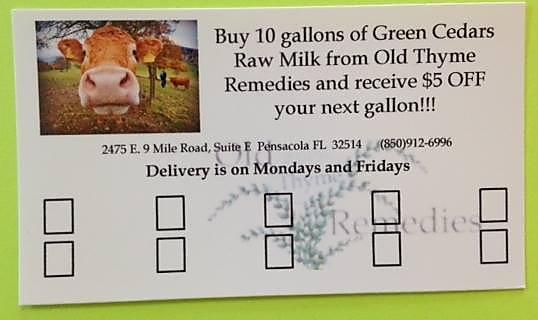 OTR Milk Discount
