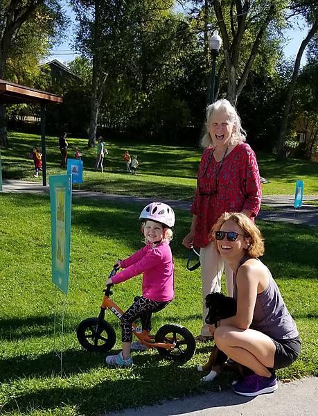 family at Baker Park