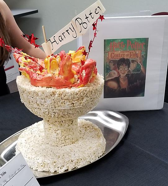 Edible version of 8220Harry Potter and the Goblet of Fire8221