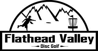 People playing disc golf 8211 FVDG logo