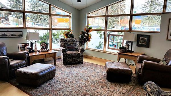 Montana Room quiet reading area