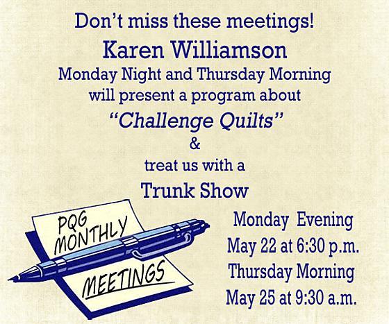 2017 Monthly Meeting Notice