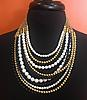 Black & White Layered Necklace