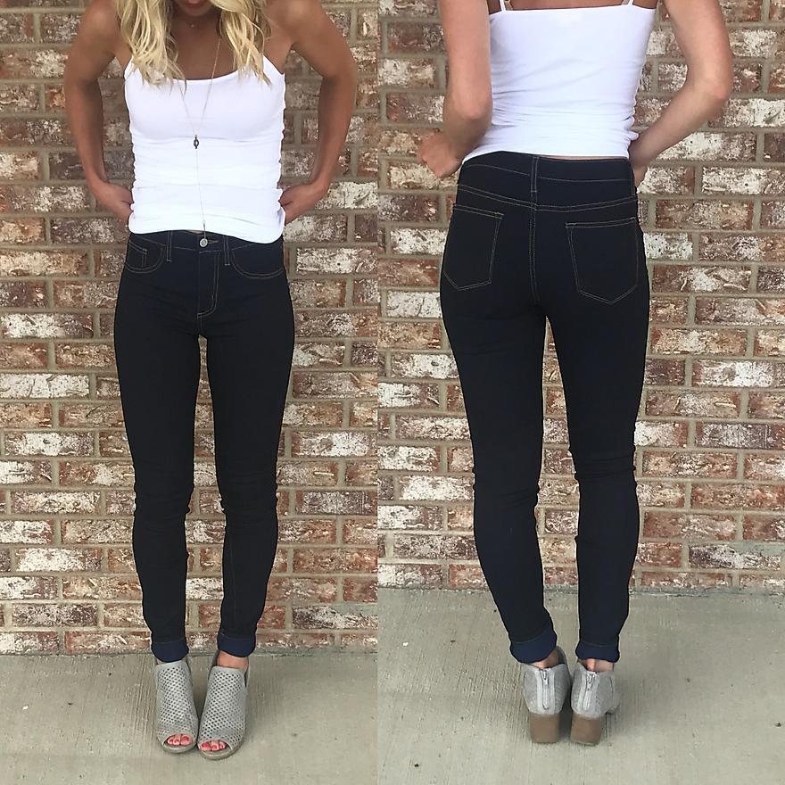 Infamous Skinny Jeans (Plus)